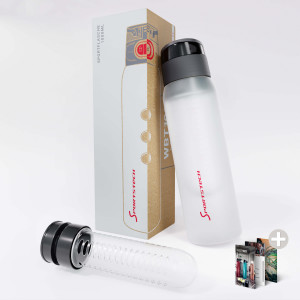 WBT100 Trinkflasche Crystal Clear