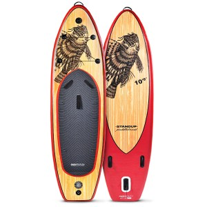 WBXs320 SUP Board Wooden Firefish