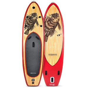 WBXs368 SUP Board Wooden Firefish